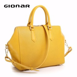 Wholesale Brand Elegance Leather Designer Cheap Woman Handbag China Supplier