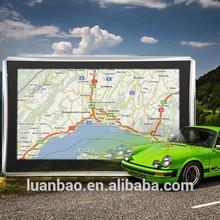 Portátil de 7 pulgadas navegador gps del coche tft de alta definición con av-in bluetooth