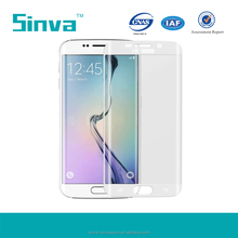 0.2mm full cover excellent glass screen guard for galaxy s6 edge with oleophobic coating OEM design