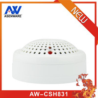 360 Degree Detection Angle Wall Mounted Conventional Photoelectronic Combined Heat And Smoke Detector