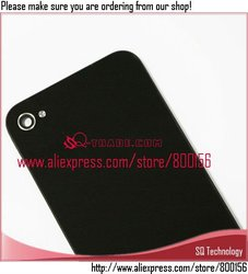 For iPhone 4S Battery Cover Black Color