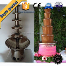 ISO / CE Quality Certification PFM Chinese garden chocolate fountain production line