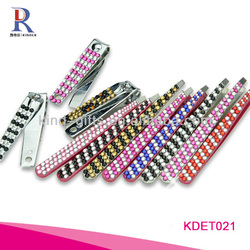 Wholesale Custom Logo Crystal Cheap Tweezers For Promotional Gift
