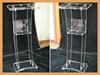 high quality transparent hollow acrylic podium cost-effective speech podium