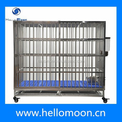 2015 Wholesale High Quality Large Stainless Dog Cage