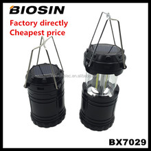 Factory sale cheap price collapssible rechargeable lantern,ultra bright solar rechargeable led lantern