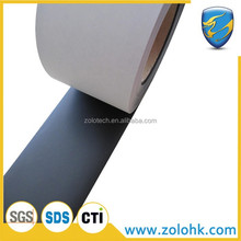 Security label material, blank tamper evident adhesive label material, VOID paper roll