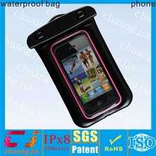 wholesale cheap Eco-friendly pvc waterproof pouch cover for iphone 5
