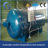 high temperature PLC control rubber vulcanisation autoclave