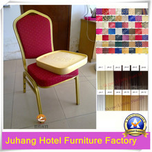 gold or silver banquet chair for export