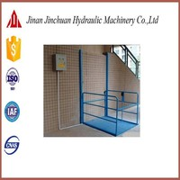 factory supply disabled hydraulic platform, stair lift with no obstacle
