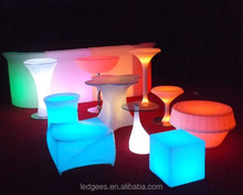 Waterproof LED Furniture for Hotels with 16 Color Changing and IR remote, Supplier