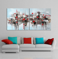 hand made canvas wall picture for decor