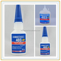Professional Loctite 403 instant adhesive Low odor Low Bloom prism cyanoacrylate adhesive
