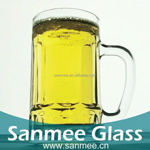 Creative Glassware 13.3oz Beer Glass With Handle