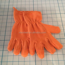 Waffle Weave Dusting Microfiber Cleaning Gloves