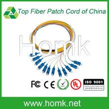 Professional Design SC Bundle Fiber Optic Patch Cord Jumper Fiber Cable