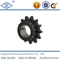 """industrial conveyor chain finished bore sprockets 1""""1/4x3/4"""" for 20B-1"""