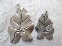 2mm thickness metal leaf wall art/lotus leaf