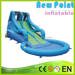 New Point inflatable water slides for summer,modern kids playing inflatable slide,inflatable water slides