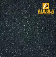Black color glitter vinyl sticker material