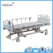 3 function electric hospital bed with handles