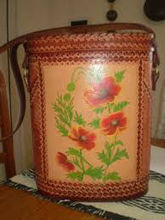 handicraft products Peruvian leather wrapped