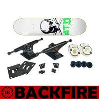 Dispatch within 24 hours Backfire 2015 NEW skateboard wholesale canadian maple skateboard ,rocking skateboard