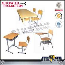 Luoyang steelite adjustable student table and chair/Kids school furniture/Classroom furniture