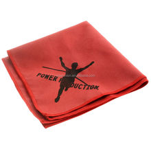 innovative custom making brands print mircrofiber towel