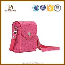 2015 Custom New arrival leather digital camera bag for samsung nx300