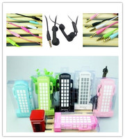 China factory silicone rubber cover mobile phone earphone