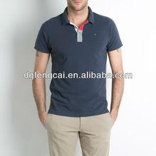 100% piqué de algodón personalizado oem para hombre camisa de polo con <span class=keywords><strong>bordado</strong></span>