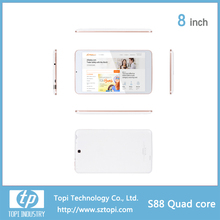 8 inch 3G WCDMA IPS tablet pc with Quad Core android 4.4 Tablet PC and GPS ,Bluetooth function tablet PC