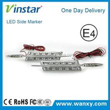 12V led indicator light Clear led side marker lights green for BMW E60 E88