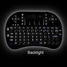 DIHAO i8+ 2.4G wireless bluetooth keyboard for pc laptop