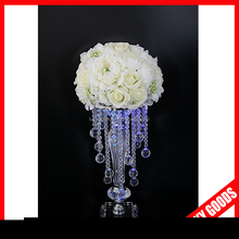 most popular wedding centerpiece or event crystal flower stand wholesale