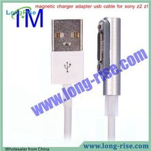 High Quality 1M LED Magnetic Charger Date Cable Adapter USB Cable for Sony Xperia Z1 L39H Z Ultra XL39h Z2 Z3