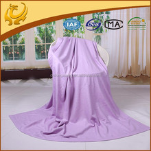 home textiles thick chinese silk fleece blanket