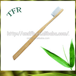 promotional gift Bamboo handle Personalized toothbrush with name