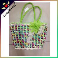 cheap promotional summer beach straw bags