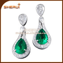 Stylish Women Jewelry Rhinestone Earrings ,Crystal airplane earrings