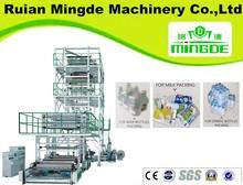 máquina para hacer bobinas de plástico