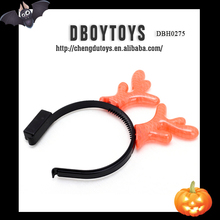 Hot party toy set Halloween decoration flashing plastic OX horn shape gift set for playing EN-71 DBH0276