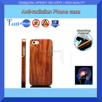 mobile phone case making machine/wooden case anti-radiation case cover natural bamboo case for iphone 4/4S