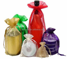 2015 wholesale personalized drawstring candy organza bags