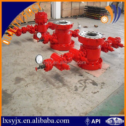 API 6a Bottom thread connection casing head for oil and gas equipment