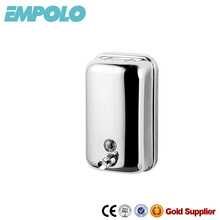 Wall mounted hand pump stainless steel soap dispenser 6005