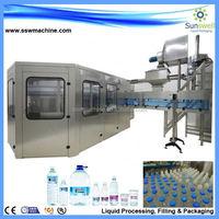 New design monobloc small water bottling plant