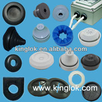 Rubber opened snap bushing Cable Protectors